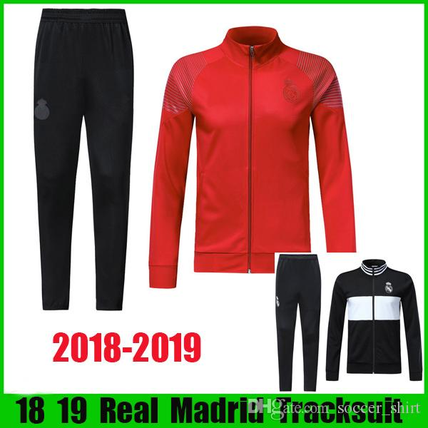 7b2bd77d7 18 19 real madrid soccer tracksuit 2018 2019 new style modric isco