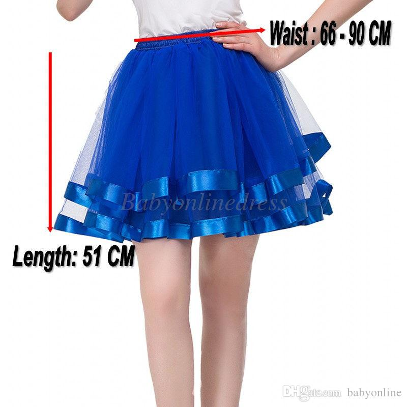 In Stock Short Wedding Bridal Petticoat Tulle Crinoline 2018 Hot Sale Underskirt For Girl Cheap Wedding Accessories Rockabilly Tutu CPA834