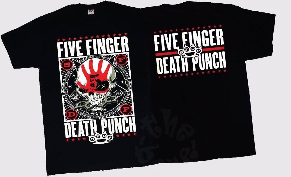 7207f653ea17 Shirt Making Websites Short Top O Neck Five Finger Death Punch American  Heavy Metal Band T Shirt Sizes S To 3XL T Shirt For Men Hilarious T Shirts  Designer ...