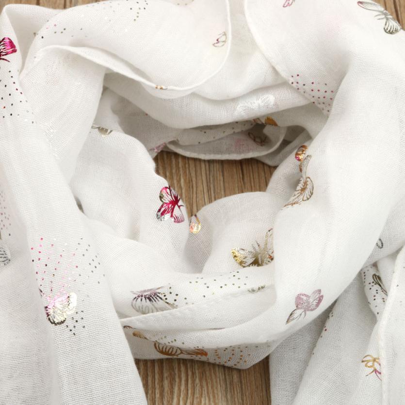 Großhandel Muqgew Dame Butterfly Print Long Wrap Damen Schal Stola ...
