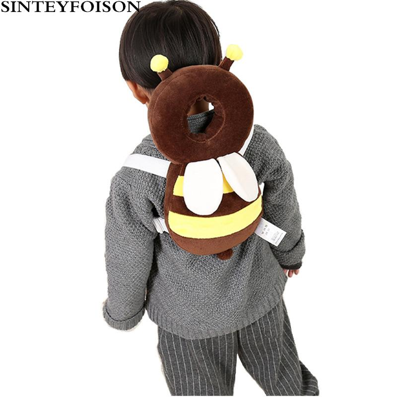 Baby Bedding Hearty Head Pillow Baby Learn Walking Anti-fall Headrest Cushionbaby Head Protection Pillow Toddler Back Care Protective Cushion Soft