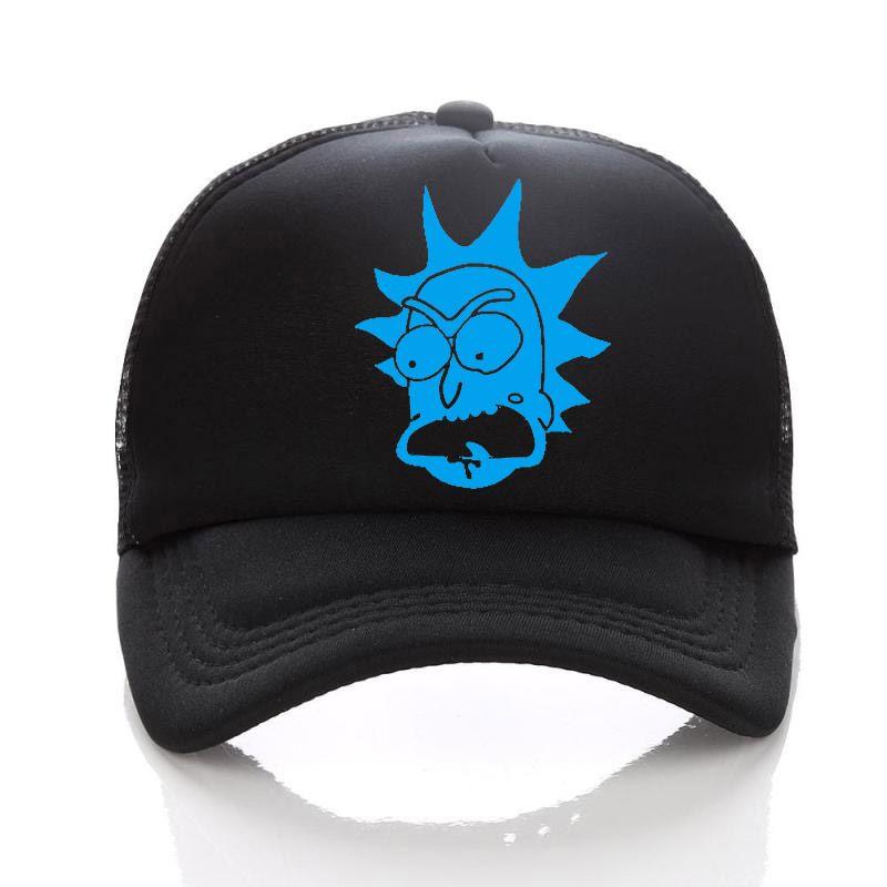 48033a859cd24 ... Sombreros de béisbol de Rick y Morty gorras Sombrero de malla de verano  sombreros de sol ...