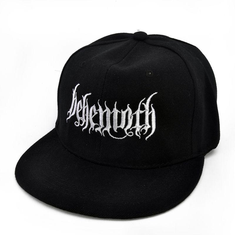 Behemoth Death Punk Rock Men S Embroidery Baseball Cap Poland S Famous  Black Metal Band Cap Trucker Cap Snapback Caps From Qupeng9165 571f3df7760