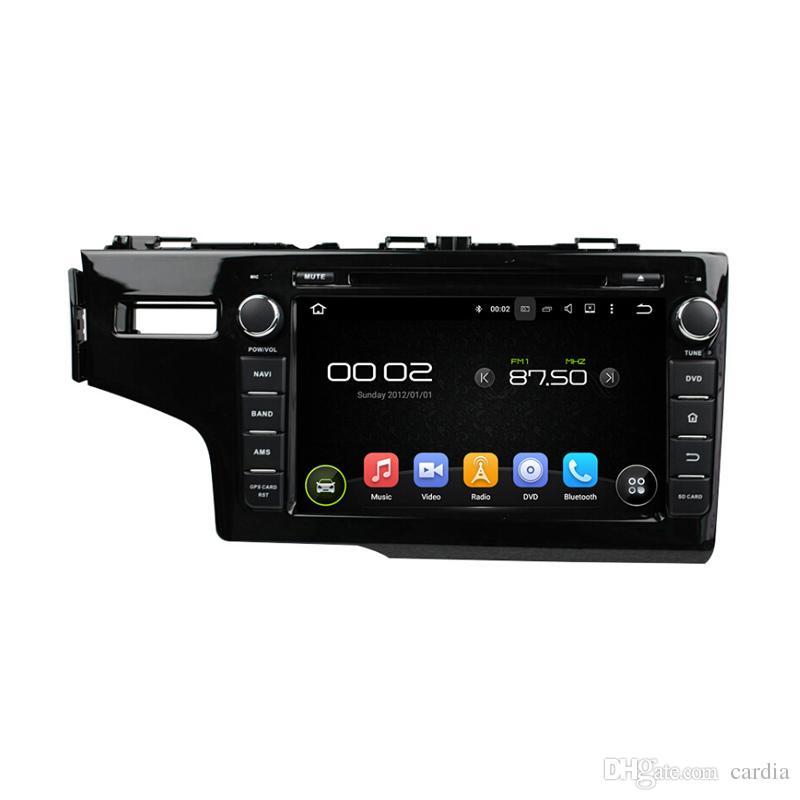 مشغل دي في دي لهوندا Fit 2014 سعر المصنع 8inch 2GB RAM Octa-core Andriod 6.0 مع GPS ، تحكم عجلة القيادة ، البلوتوث ، الراديو