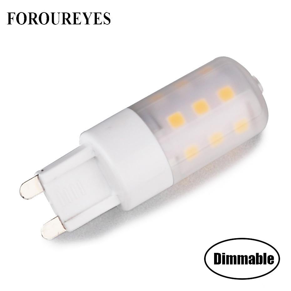 Großhandel G9 Led Lampe Dimmbare 220 V 5 Watt Led Lampe 21 Leds 2835 ...