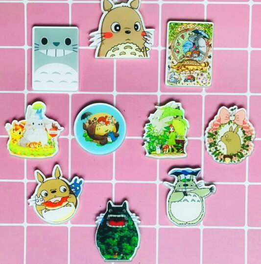 Icônes Broche Vêtements Sur Badges Dos À 48 Décoration 27 Mon Du Totoro X Voisin Mélanger Pour Sac Acheter 12 Acrylique Kawaii De 8Bq767