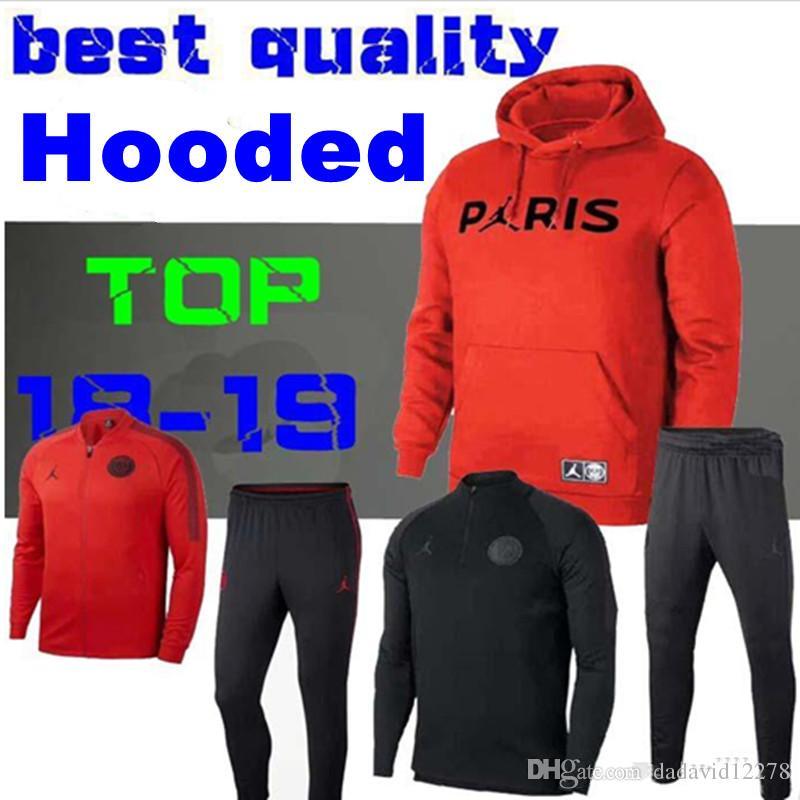 c8822cef0 2018 2019 Psg Jordam Jacket Training Suit Champions League ...