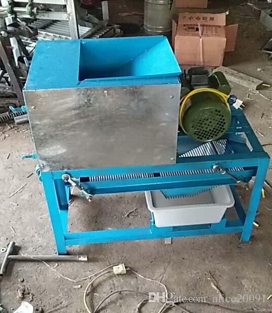 Hot selling river snail meat shell separate machine,viviparus separator, hostess helper snail machine, river snail separator