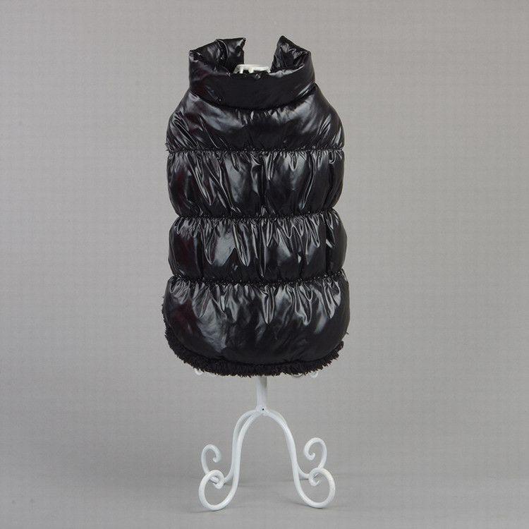 Hot venda quente Dog Brasão espessamento roupas Pet Animais Vestuário roupas de algodão acolchoado Lazer inverno colete T3I0055