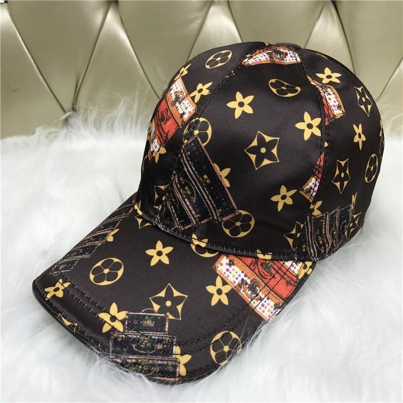 2018 New Hats Fashion Canvas Caps Cabinet Stitching Pattern Outdoor Leisure  Visor Baseball Cap Custom Fitted Hats Design Your Own Hat From  Dh  shopping a4f99bd43bf3