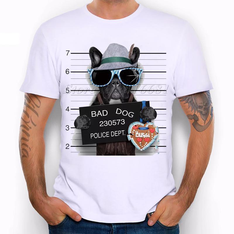 66bd4c8b29 Summer Fashion French Bulldog Design T Shirt Men S High Quality Dog Tops  Hipster Tees Pa890 Size S 3XL Create Your Own T Shirt Design White T Shirt  Design ...