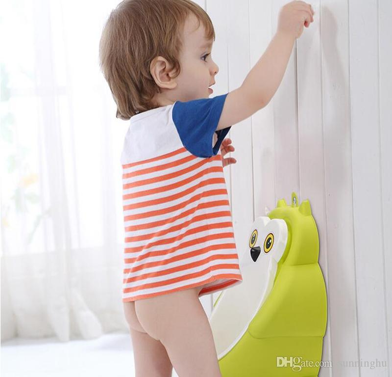Bebê Potties Banheiro Coruja Bonito Projeto Mictórios de Parede-Higiênico de WC Treinamento Portátil Menino Crianças Criança Higiênico À Prova de Um Vazamento Crianças Potty