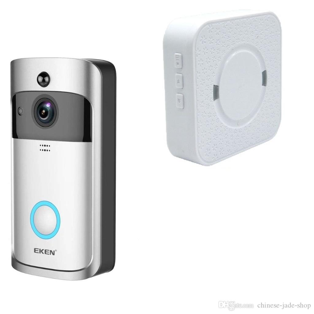 2019 eken home video wireless doorbell 2 720p hd wifi real time2019 eken home video wireless doorbell 2 720p hd wifi real time video two way audio night vision pir motion detection with bells from chinese jade shop,