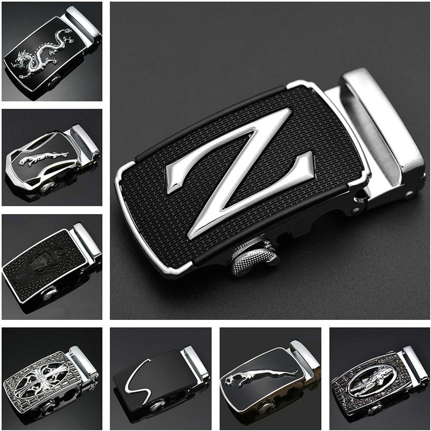 549771fb542c8 Men's Fashion Accessories Silver Animal Geometric Metal Alloy ...