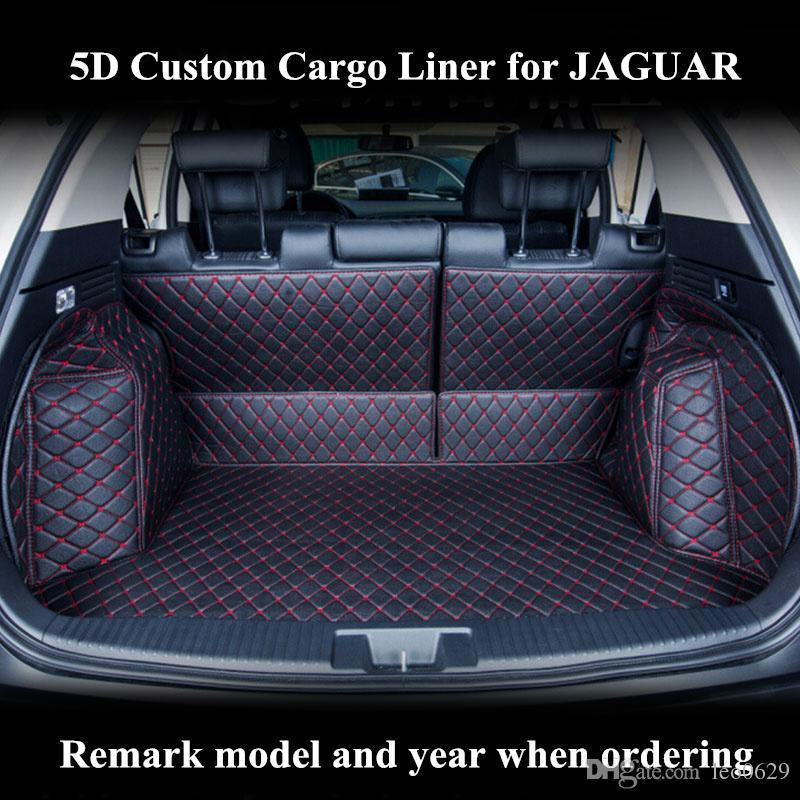 Custom Cargo Liner Car Trunk Mat For Jaguar Xf Xe Xj F Pace Auto