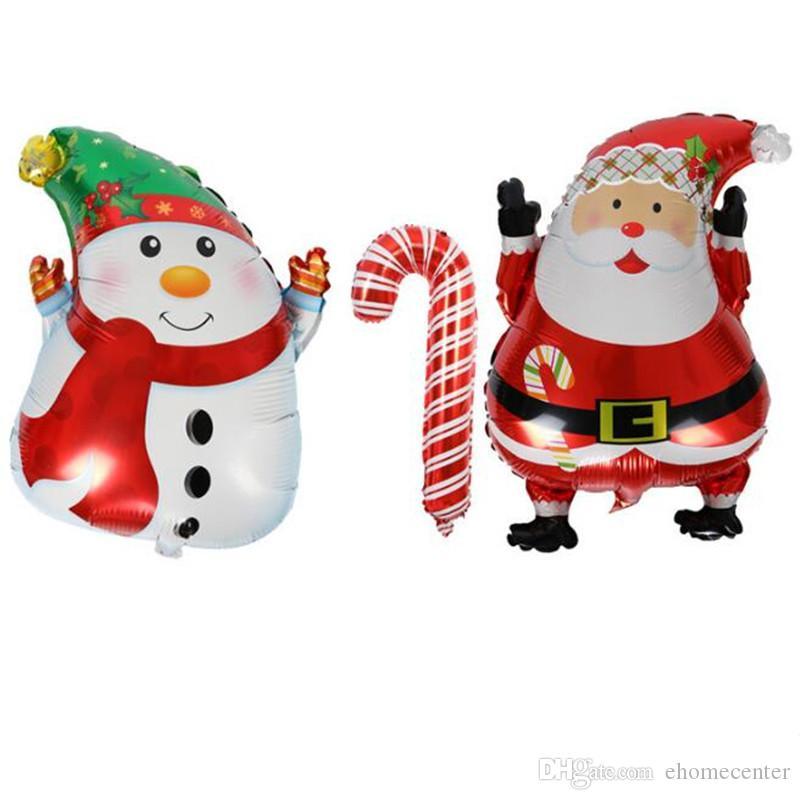 Großhandel Weihnachtsfeier Ballon Weihnachten Santa Schneemann ...