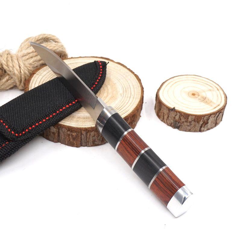 SR K30 Mini Fixed Blade Knife 3Cr13 Camping Survival Pocket Knives Outdoor Hunting Portable Knife EDC Tools
