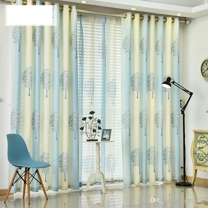 custom window curtains drapery 2018 american country cotton linen curtain simple modern bedroom living room study finished custom window curtains from hezekiah 1619 dhgatecom