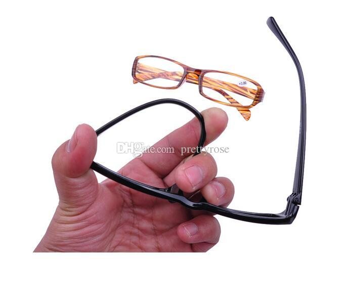 Lesebrille Männer Frauen Eyewear Modelle Unisex Zufällige ultraleichte 1,0-4,0 Einfach Nützlich Beliebte Mode Geschenk für Eltern