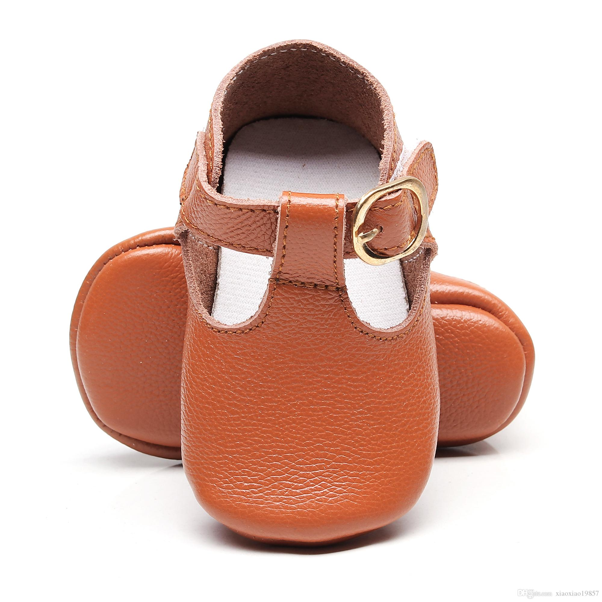 f90f81be296 2019 Bebe Genuine Leather Baby Princess Girl Baby Moccasins Moccs Shoes Bow  T Bar Soft Soled Non Slip Footwear Crib Shoes From Xiaoxiao19857