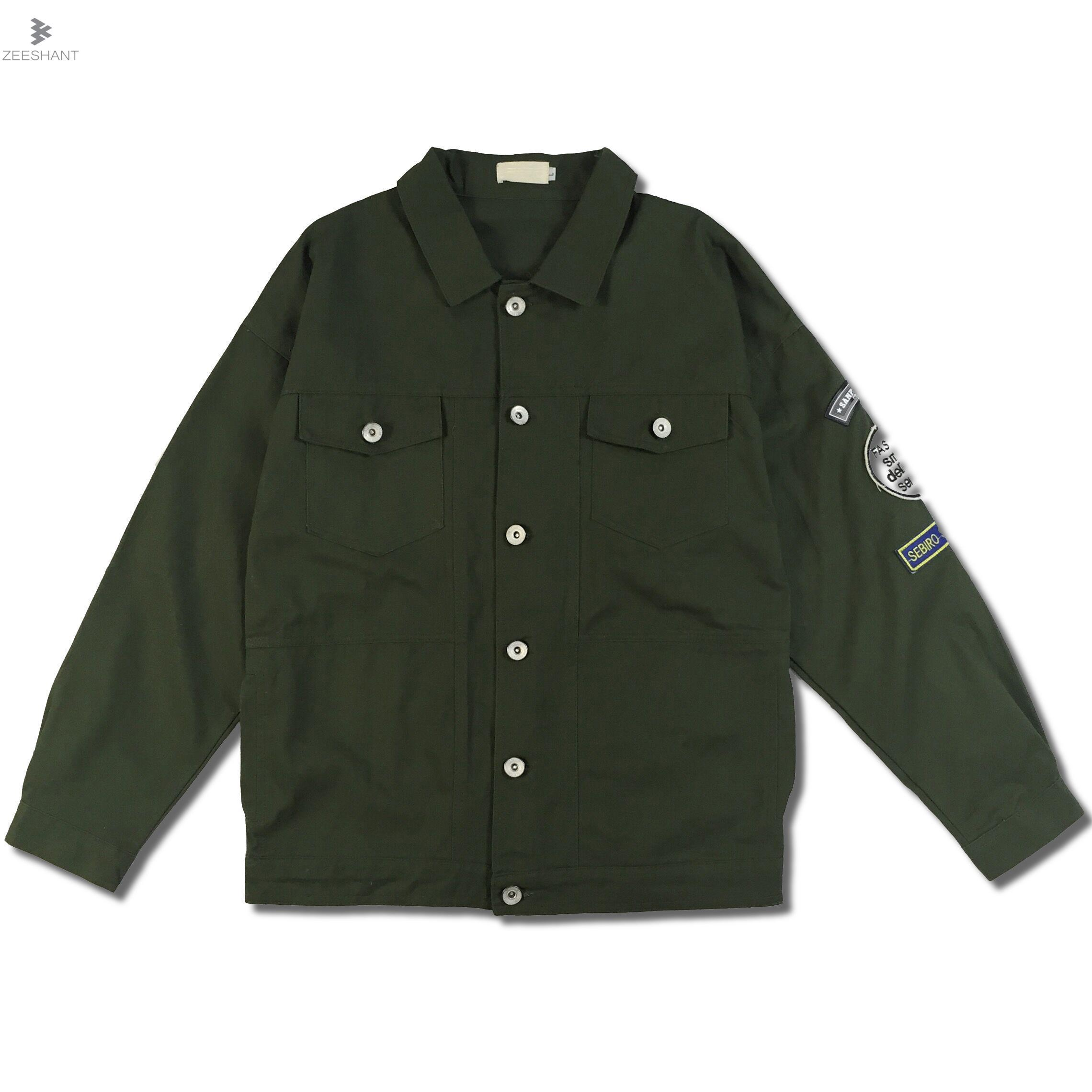 ZEESHANT Casual Windbreaker Men' s Thin Jackets Spring Trench Baseball Jackets Coat Lightweight Jacket Men Chaquetas Hombre