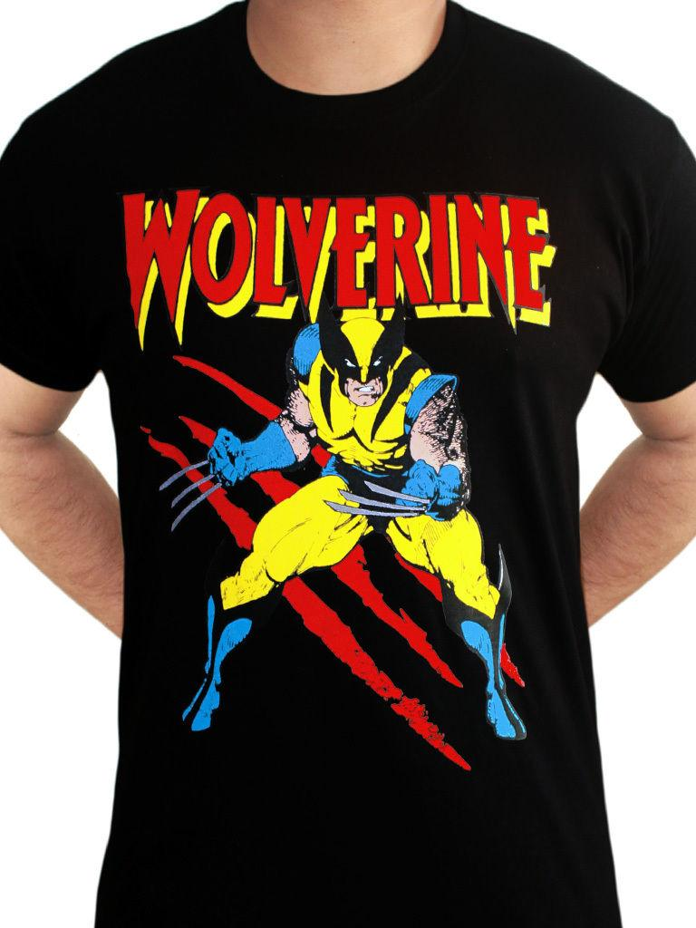 093a02202a5f Wolverine Scratches X Men Avengers Official Marvel Comics Black Mens T  ShirtFunny Unisex Casual Tshirts Funny T Shirts From Tshirthutzone, $12.96|  DHgate.