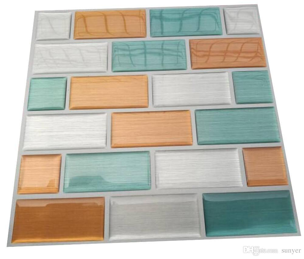 Wholesale Hot Sale Magic Fix Bathroom Mosaic Tile Bathroom Wall ...