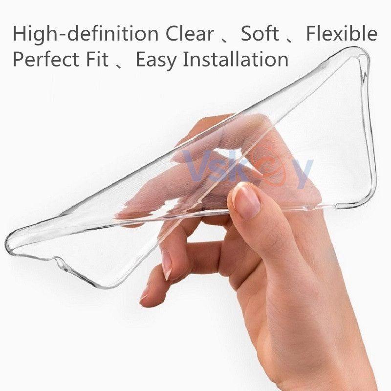 100 stücke hohe licht tpu silikon case für samsung galaxy a3 a5 a7 2017 a8 plus 2018 ultradünne transparente telefon rückseitige abdeckung