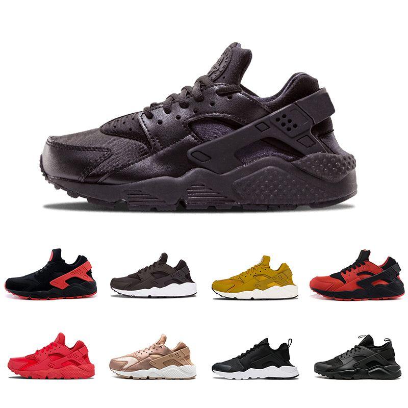 a1642b29f9931 2018 Air Cheap Huarache I 4.0 1.0 Red Running Shoes Men Women Grey White  Black Gold Huaraches Huaraches Sports Sneakers Shoes Men Sports Shoes Shoe  Shops ...
