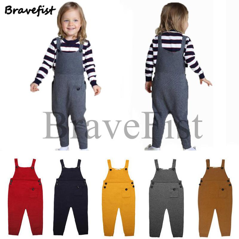 edf03f7a48a 2019 Spring Autumn Baby Girl Overalls Cotton Pant Children Overalls ...