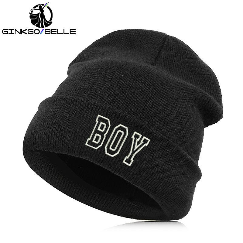 dff3294ae89 2019 Beanie Hat Skullie Cap Slouchy Winter Embroidery Punk Men Women Boy  Girl Teens Street Dance Customized Personalized From Ekuanfeng