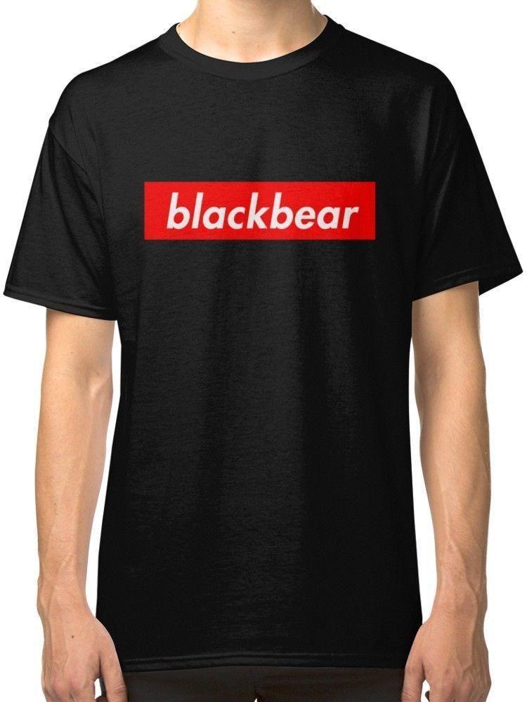Compre Blackbear Camiseta Con Logo De Box Camisetas Negras Ropa Camisetas  De Manga Corta Camisetas Sin Mangas Con Top Camiseta Estampada De Algodón  Puro ... d8fcd23bee5