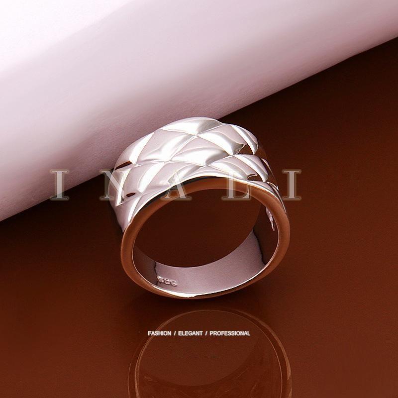 Gli uomini miglior regalo San Valentino Cina all'ingrosso di gioielli di moda 925 anelli di nozze placcati argento anelli da uomo