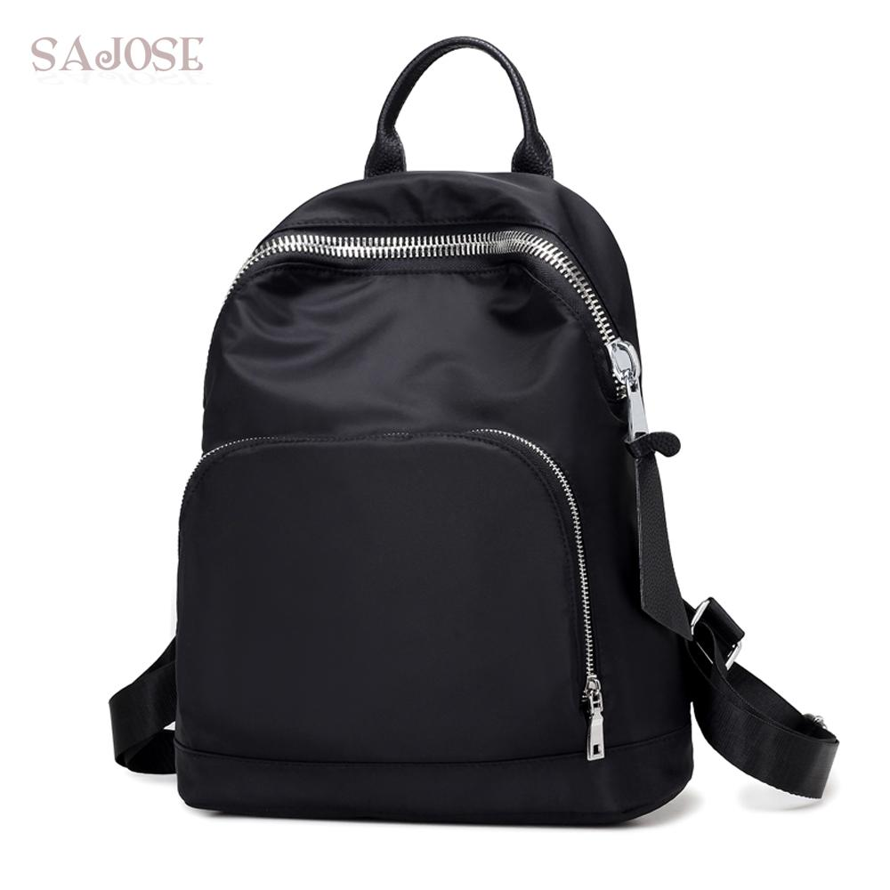 36a5f5224600 Women Fashion Leather Backpack High Quality Simple School Bag ...