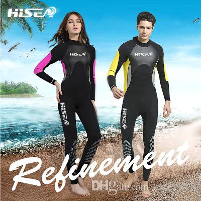 3mm Couple Diving Suit Long-sleeved Trousers Surf Clothing Outdoor ... 7007b13d5