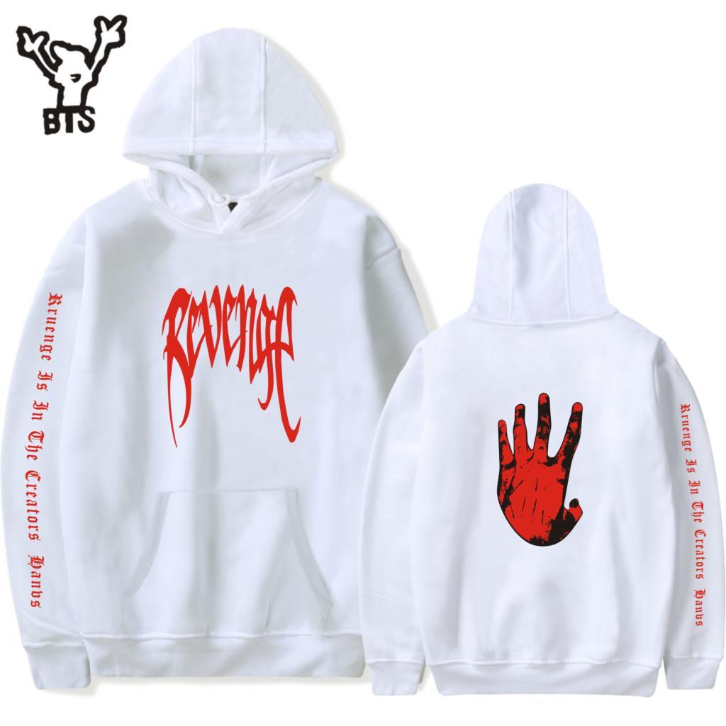 Cheap Price Summer Hip Hop Rapper Xxxtentacion Hoodie Sweatshirt Men Streetwear Short Sleeve Hooded Men Streetwear Harajuku Clothes Hoodies & Sweatshirts