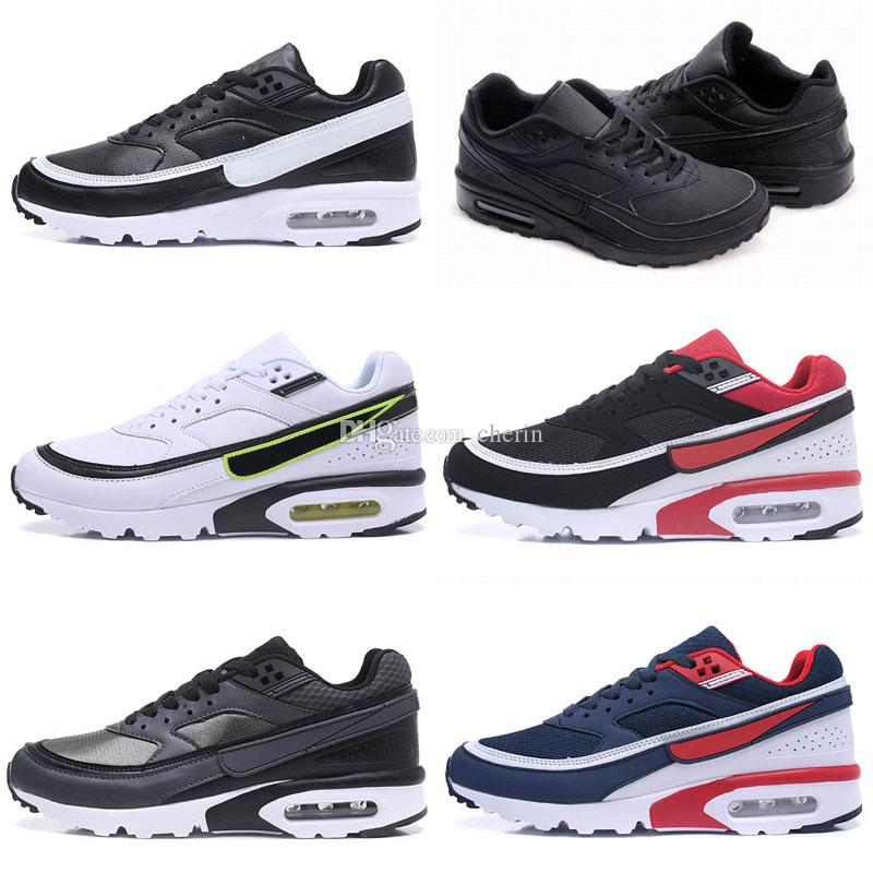 official photos dce21 5abb3 Acheter 2018 Hommes Casual Sports Randonnée Bw Hommes Femmes Air Coussin  Chaussures De Course Chaussures De Sport Hommes Maille Air Chaussures De  Course ...