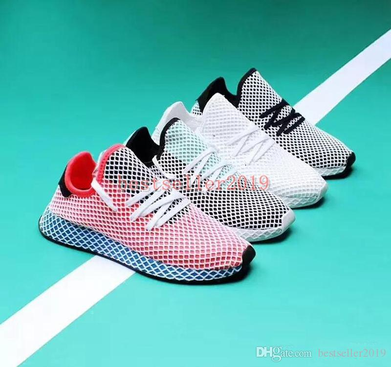 bc4f6872f8c 2018 Chaussures Deerupt Runner Mens Running Shoes Womens Trainers Designer  Sneakers Sports Zapatos Luxury Brand Casual Shoe Black Running Shoes  Running ...