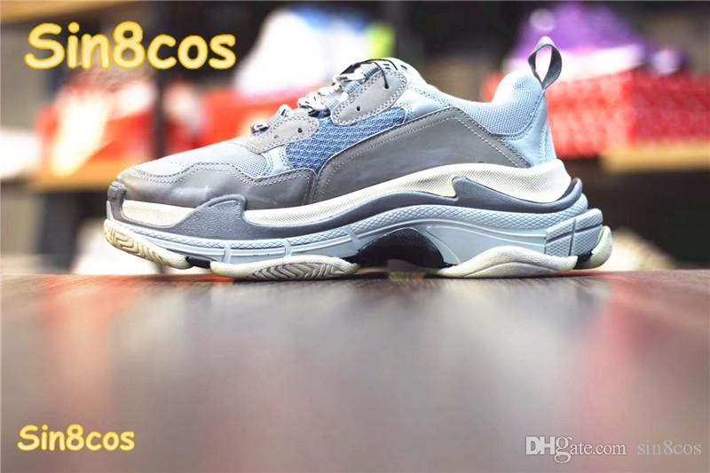 bc665f2fbf77 Hot Sale 2018 Fashion Paris Sneaker Triple Casual Luxury⠀Balenciaga ...