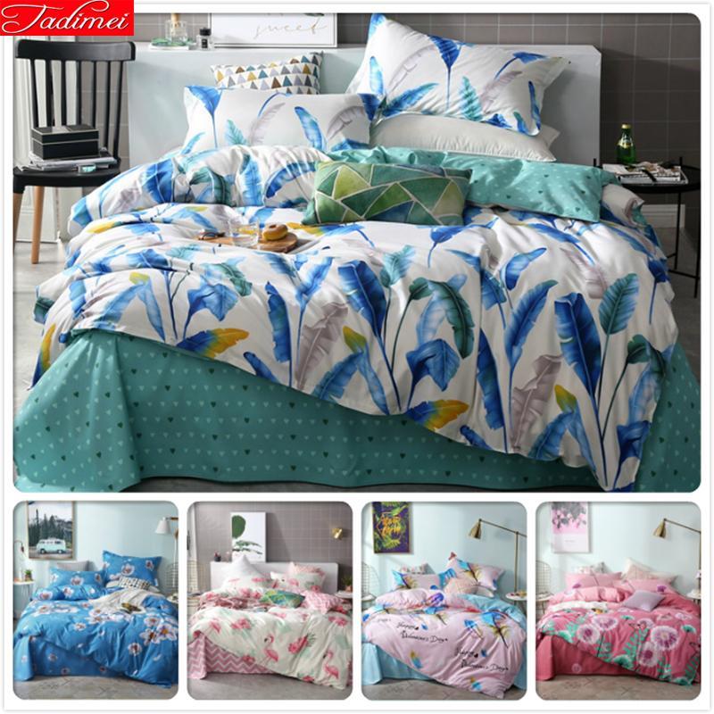 2019 New Fashion Duvet Cover Bedding Set Adult Kids Child Soft Cotton Bed Linen Single Twin Queen King Size Bedspreads Bedlinens Entertainment Memorabilia