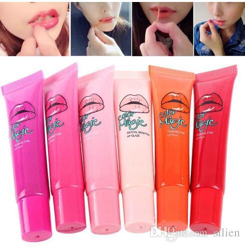 Atacado Sexy Maquiagem Cristal Líquido Lábios Cosméticos Long Lasting Batom Hidratante Brilhando Diamante Brilho Lip Gloss
