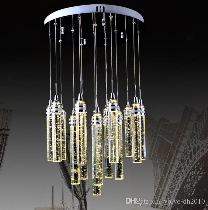 Luxury Modern Bubbles Crystal Chandelier For Dining Room 13 Lights ...