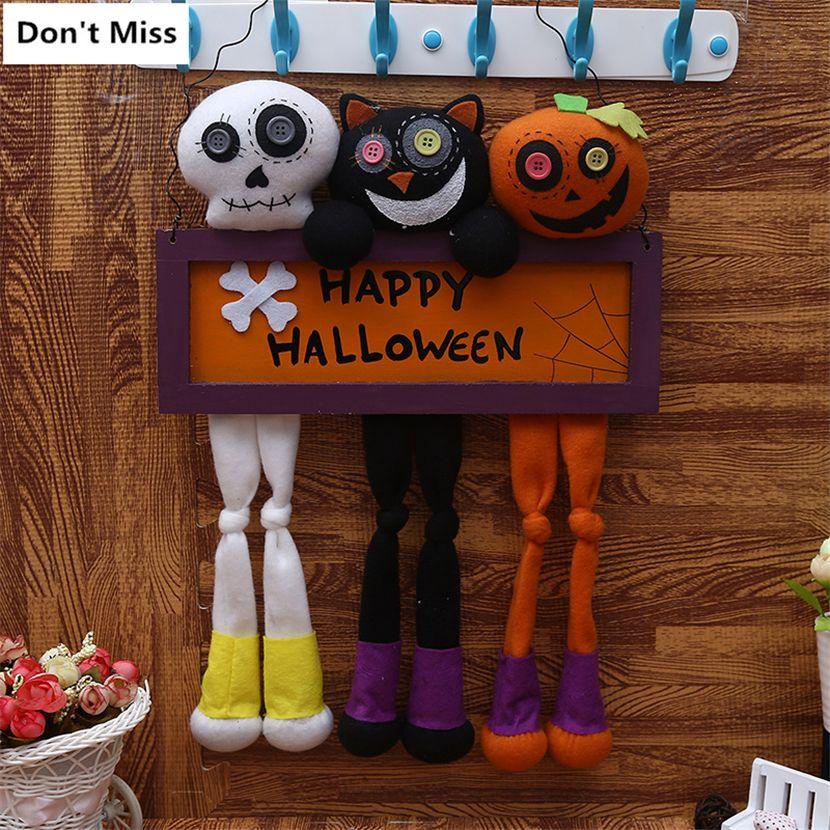 Grosshandel Halloween Requisiten Halloween Dekoration Horror Cartoon