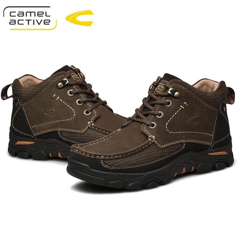 new product 6a677 ec981 Camel Active New Waterproof Hiking Shoes Man Tactical Shoes Hiking Sneakers  Outdoor Big Size Mountain Sneakers Trekking Boots