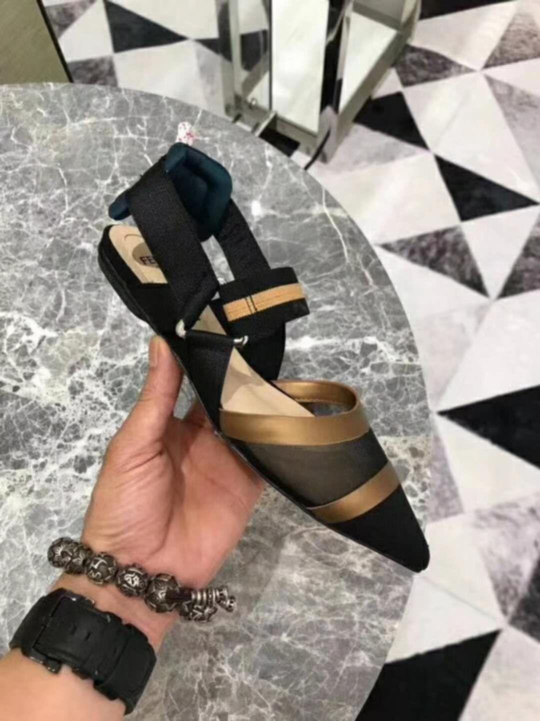 MujerSandalias De Compre Planas Zapatos MallaLujo vmNn0wy8OP