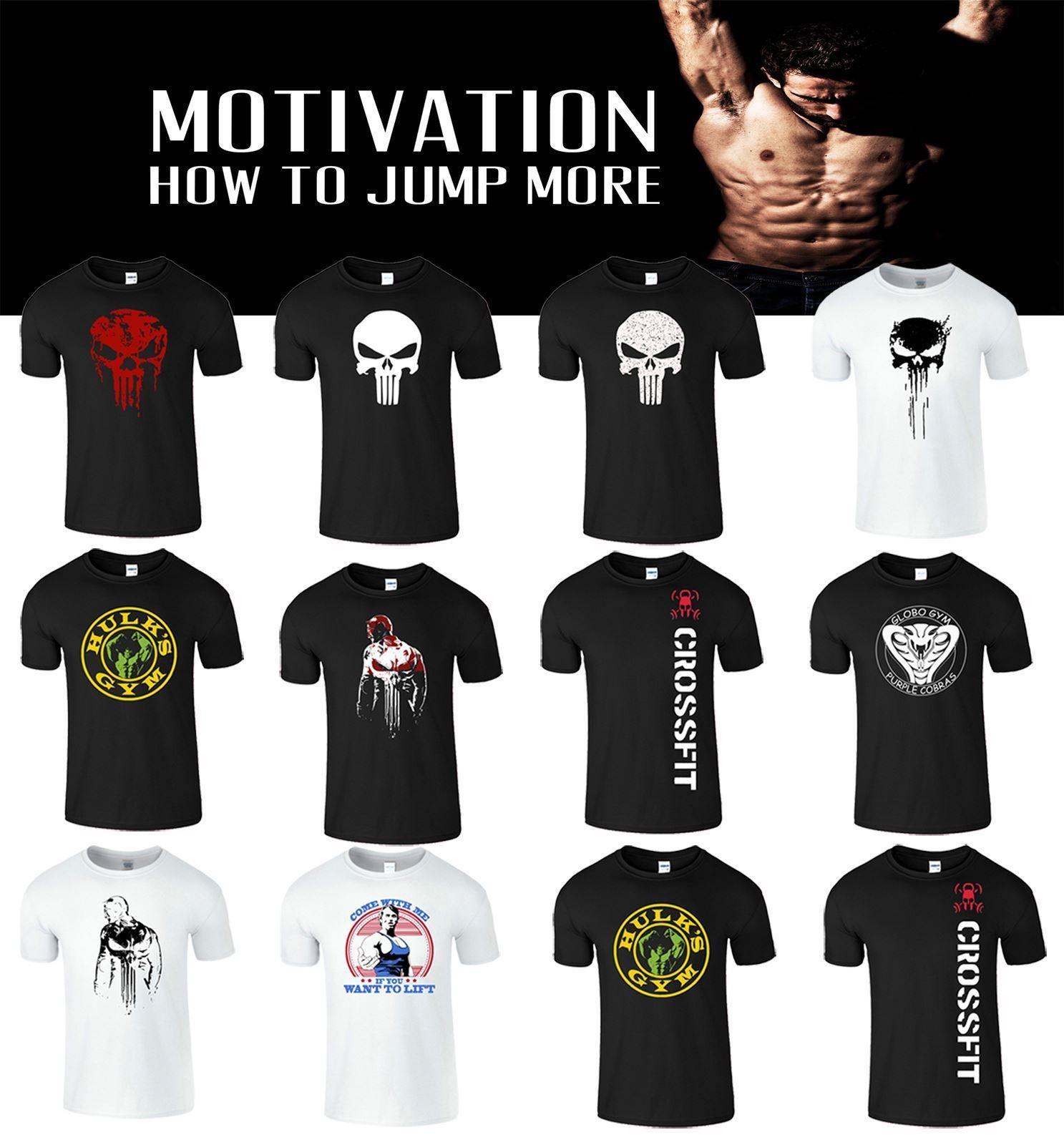 2db4d352c Arnold Punisher Mens T Shirt Skull Motivation UK Bodybuilding Workout  Training Cool Casual Pride T Shirt Cotton Shirt Tee Shirts Online From  Designtshirts, ...