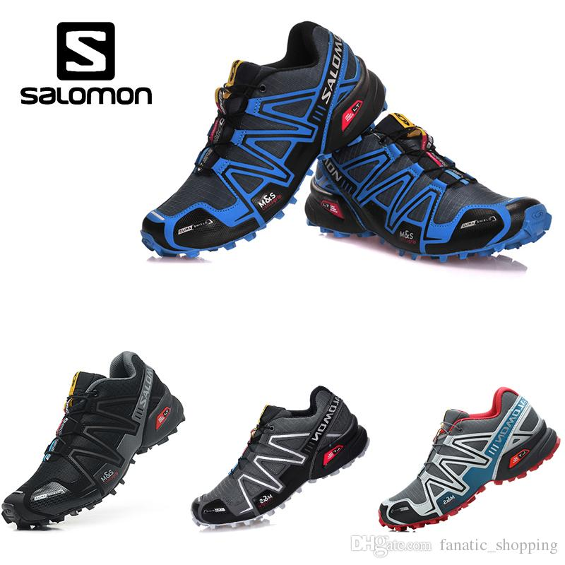 Salomon Speed Cross 3 CS Trail Running Shoes Blue Black Zapatos Hombre  Speedcross III Outdoor Jogging Sports Sneakers Running Shoe Best Running  Shoes For ... b42c68b76c8a