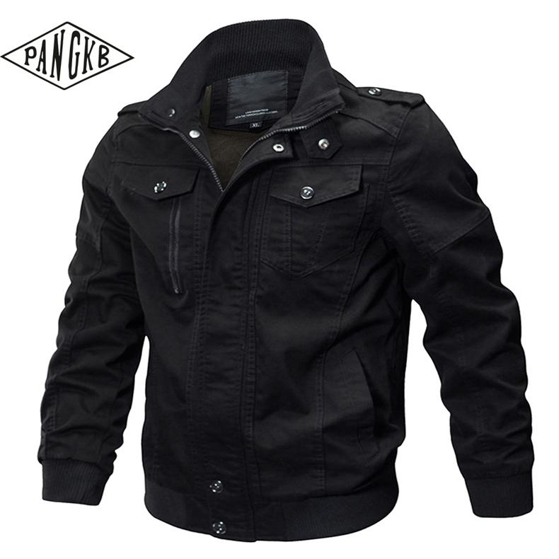 check out f09dc 430a6 [PANGKB] Moda uomo giacca primavera autunno Fashion Jacket Dogfight Pilot  uomo cappotto maschile cappotto sottile Outwear