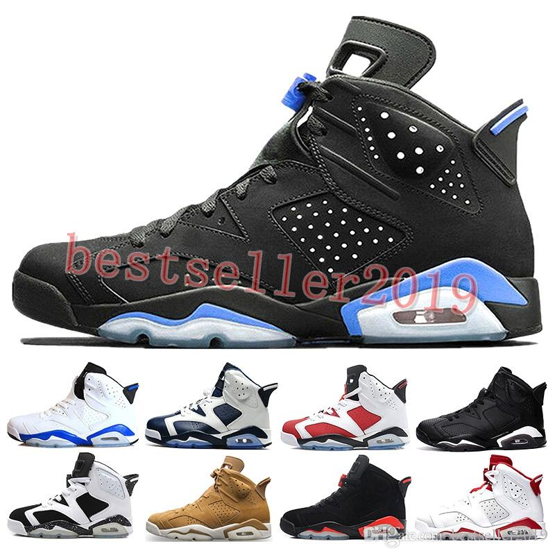 d91d9613760c27 2018 Cheap 6 6s Mens Basketball Shoes Man Unc Black Cat Infrared Sports  Blue Maroon Olympic Alternate Hare Oreo Angry Bull Sports Sneakers Sneakers  Online ...