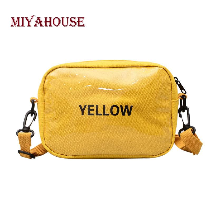 2019 Fashion Miyahouse Korean Style Women Small Flap Bags Fashion Letter  Design Shoulder Bag For Female Portable Messenger Bags Luxury Bags Handbags  ... 387d6814e815d